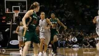 Впечатляющая игра баскетболистки Бекки Хэммон - Видео онлайн