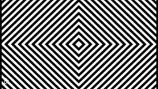 Смотреть онлайн Оптическая иллюзия: галлюциногенный эффект