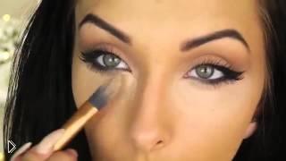 Смотреть онлайн Красивый макияж: кошачьи глазки