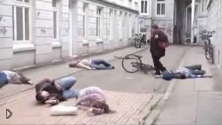 Флешмоб посвященный борьбе с ядерным оружием - Видео онлайн