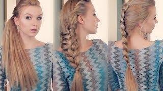 Смотреть онлайн Три простые и красивые прически для длинных волос