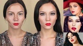 Смотреть онлайн Делаем макияж Моники Белуччи
