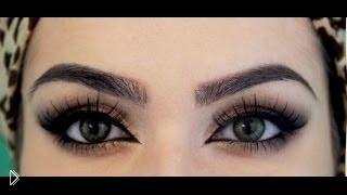 Смотреть онлайн Сочный макияж в арабском стиле