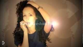 Смотреть онлайн Как сделать африканские кудри на длинные волосы