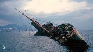 Смотреть онлайн Как спускают на воду корабли: подборка