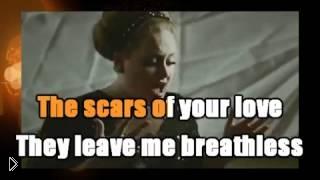 Смотреть онлайн Караоке: Adele – Rolling in the deep