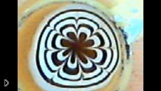 Смотреть онлайн Урок домашнего водного маникюра «Мраморный цветок»