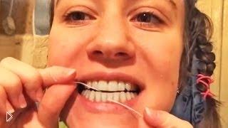 Смотреть онлайн Как правильно чистить зубы