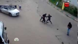 Смотреть онлайн Отморозки избили и расстреляли водителей маршрутки