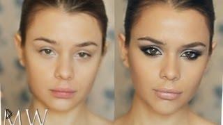 Смотреть онлайн Отличный макияж для похода в клуб