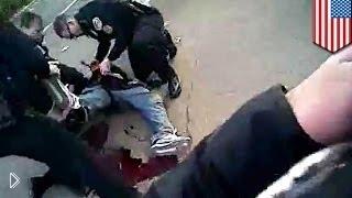 Смотреть онлайн Перестрелка преступника и полицейских от первого лица