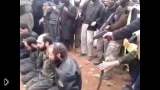 Смотреть онлайн Расстрел армян сирийскими исламистами
