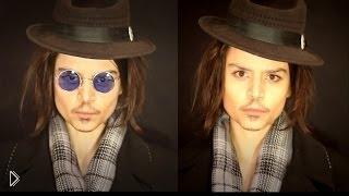 Макияж: превращаемся в Джонни Деппа - Видео онлайн