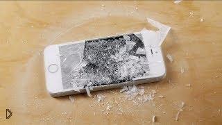 Смотреть онлайн Странный краш-тест IPhone