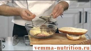 Смотреть онлайн Как приготовить бутерброды со шпротами и яйцом