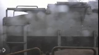 Смотреть онлайн Поезд встретился с торнадо