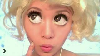 Смотреть онлайн Макияж Lady Gaga из клипа Bad Romance