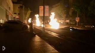 Смотреть онлайн Взрывы из-под земли на Тайване: 01.08.2014