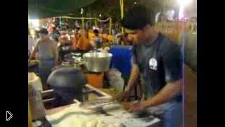 Смотреть онлайн Как пекут лепешки в Индии