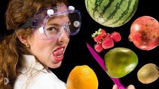 Смотреть онлайн Как правильно чистить фрукты и ягоды