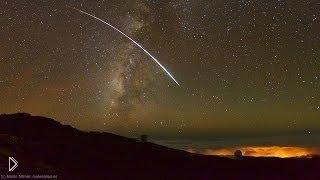 Дождь Персеиды из метеоритов - Видео онлайн