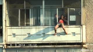 Смотреть онлайн Спасли женщину от самоубийства: Н. Тагил 08.08.2014