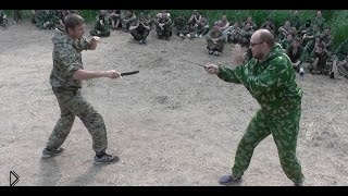 Смотреть онлайн Обучение бою с ножом