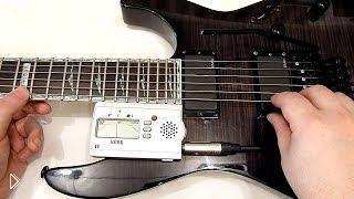 Смотреть онлайн Как настроить гитару с системой Floyd Rose