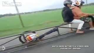 Смотреть онлайн Самый странный скутер, сделанный в Индонезии
