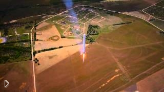 Пробное испытание космической ракеты будущего - Видео онлайн