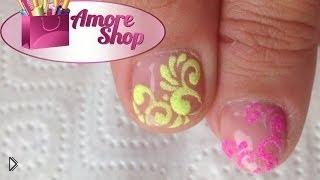 Смотреть онлайн Уроки маникюра: бархатные ногти