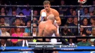 Смотреть онлайн Боксерский бой В. Лепихин против Р. Берриджа