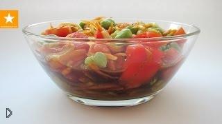 Вегетарианский белковый салат с бобами - Видео онлайн