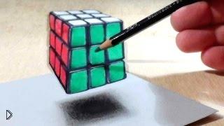 Смотреть онлайн Подборка невероятных крутых оптических иллюзий
