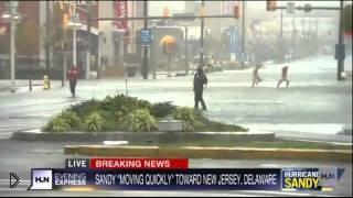 Смотреть онлайн Подборка: Ураган Сэнди, октябрь 2012