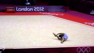 Дарья Дмитриева: художественная гимнастика с мячом - Видео онлайн