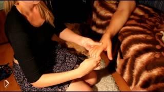 Урок как делать массаж пальцев рук - Видео онлайн