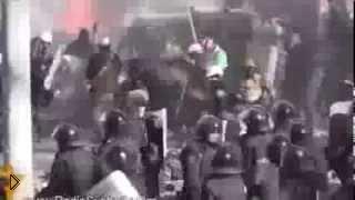 Доказательство убийства беркута митингующими - Видео онлайн