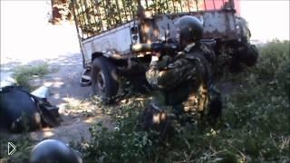 Смотреть онлайн Бои в Иловайске Донецкой области