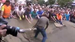 Попытка новой власти зачистить майдан август 2014 - Видео онлайн