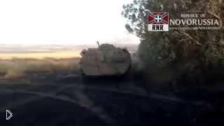 Смотреть онлайн Батальон «Восток» ведет бой против армии Украины