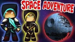 Фрост и Парниша в майкрафт-космосе - Видео онлайн