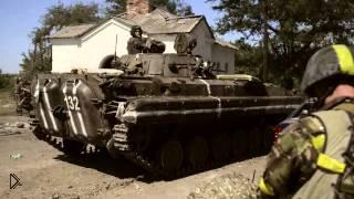 Смотреть онлайн Бои в Иловайске глазами украинской армии