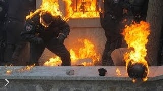 Смотреть онлайн Как горел Беркут на майдане
