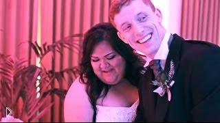 Смотреть онлайн Счастливая толстушка на своей свадьбе