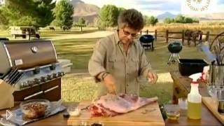 Смотреть онлайн Как приготовить баранину на гриле по-провански