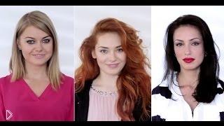 Чем отличается макияж для блондинки, брюнетки и рыжей - Видео онлайн