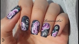 Смотреть онлайн Техника маникюра: китайская роспись на ногтях