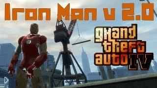 Смотреть онлайн Мод для GTA 4 – железный человек