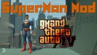 Смотреть онлайн Моды для GTA 4 – супермен